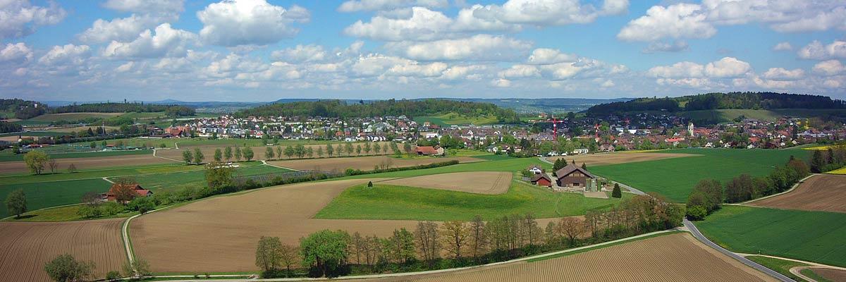 360° Luftaufnahmen Panorama mit Drohne