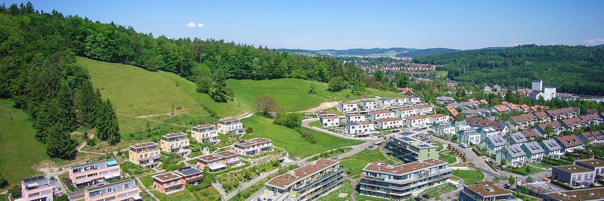 Professionelle Luftaufnahmen mit Drohnen aus Winterthur / Zürich