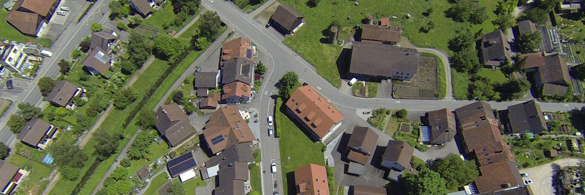Professionelle Luftaufnahmen mit Drohnen aus der Schweiz