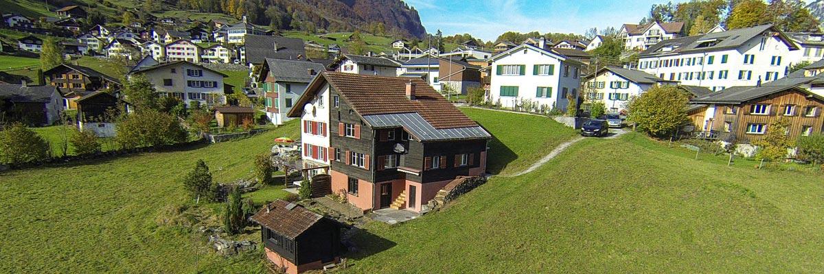 Luftaufnahmen / Luftbilder von Immobilien