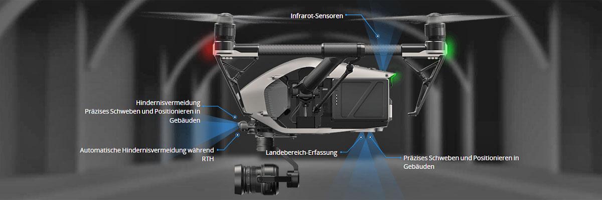 Professionelle Drohnen für Luftbilder / Luftaufnahmen in 1A Qualität