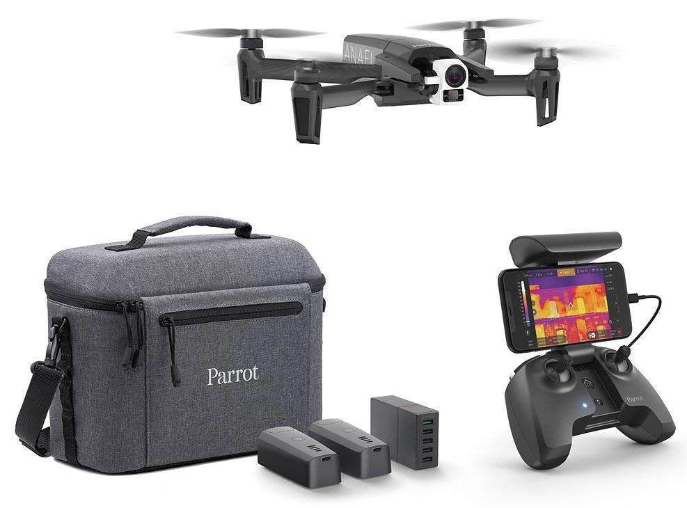 Wärmebild Drohne