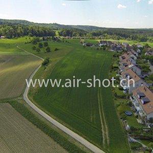 Luftaufnahme aus der Region Winterthur