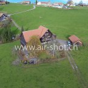 Luftaufnahme von der Region Appenzell