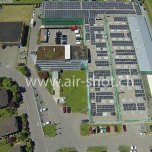 Luftaufnahme aus der Region Elsau / Winterthur