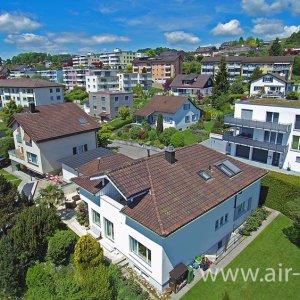 Luftaufnahme aus der Region Rapperswil