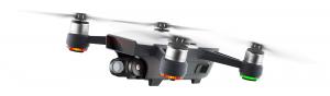 Die DJI Spark ist die kleinste Mini-Drohne mit einer mechanischer Kamera-Stabilisierung.